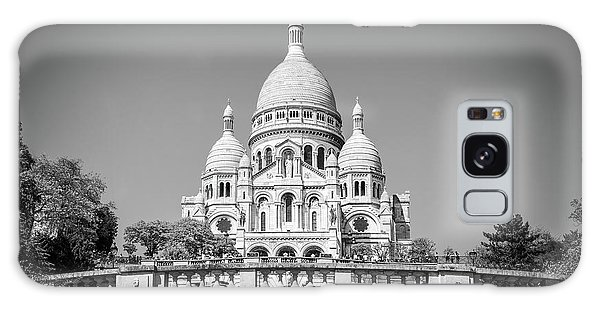 Sacred Heart Galaxy Case - Basilica Of The Sacred Heart In Paris by Delphimages Photo Creations