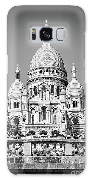 Sacred Heart Galaxy Case - Basilica Of The Sacred Heart In Montmartre by Delphimages Photo Creations