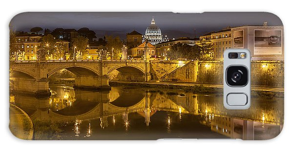 Basilica Over The River Tiber Galaxy Case by Ed Cilley
