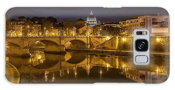 Basilica Over The River Tiber Galaxy Case