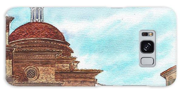 Galaxy Case featuring the painting Basilica San Lorenzo Florence Italy by Irina Sztukowski