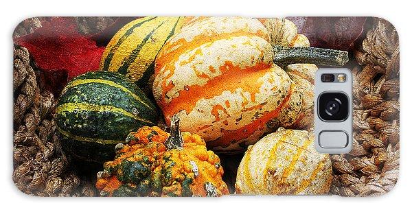 Basket Of Pumpkins Galaxy Case