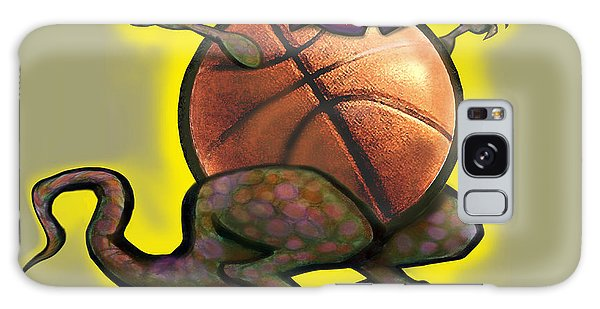 Basketball Saurus Rex Galaxy Case