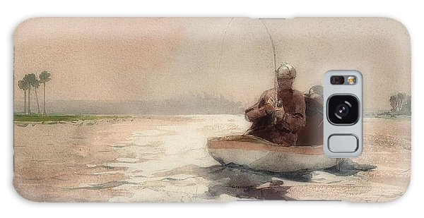 Old Florida Galaxy Case - Bass Fishing In Florida by Winslow Homer