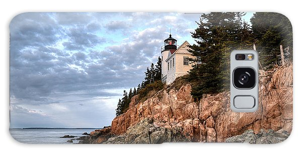 Bass Harbor Light No. 1 - Maine - Acadia Galaxy Case