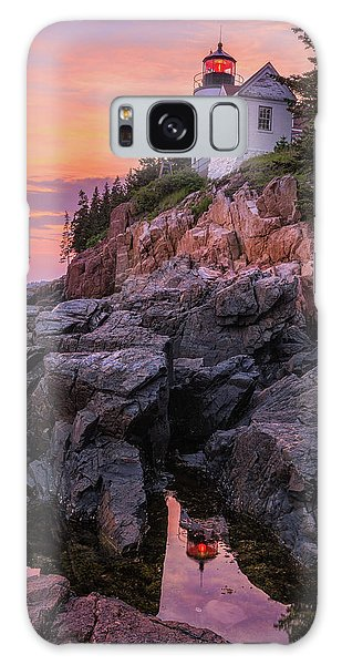 Galaxy Case featuring the photograph Bass Harbor Lighthouse by Expressive Landscapes Fine Art Photography by Thom
