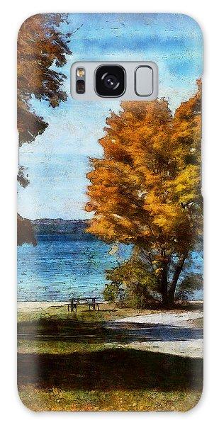 Bass Lake October Galaxy Case