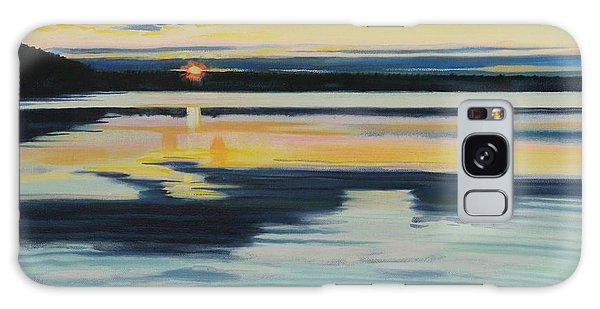 Bass Lake Sunset Galaxy Case