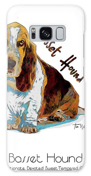Basset Hound Pop Art Galaxy Case