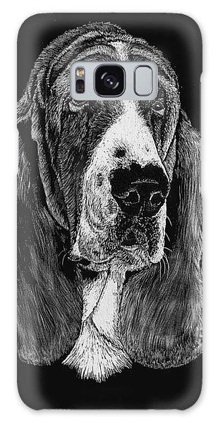 Basset Hound Galaxy Case by Rachel Hames