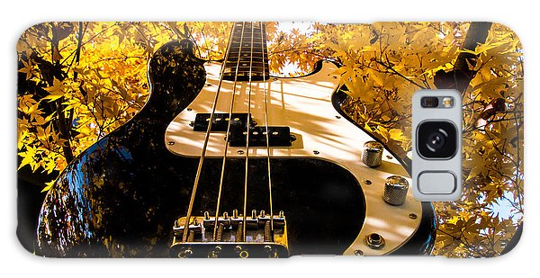 Bassic Autumn Galaxy Case by Mick Anderson
