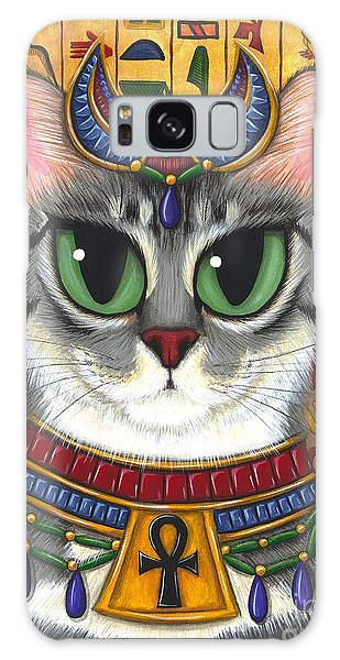Bast Goddess - Egyptian Bastet Galaxy Case