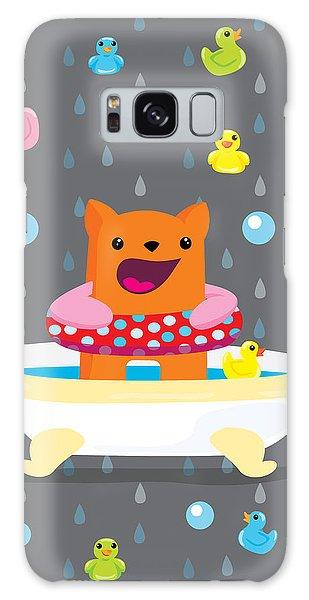 Bath Time  Galaxy Case