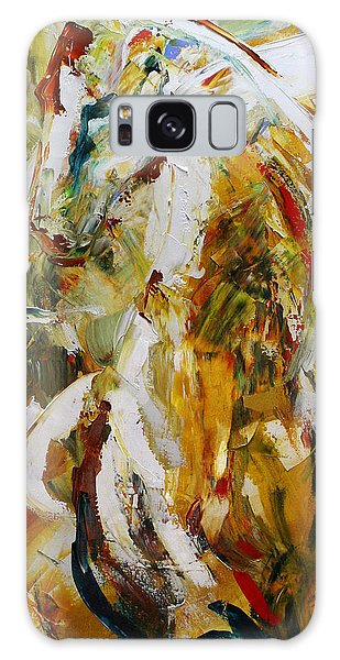 Equine Galaxy Case - Bathed In Gold by Laurie Pace