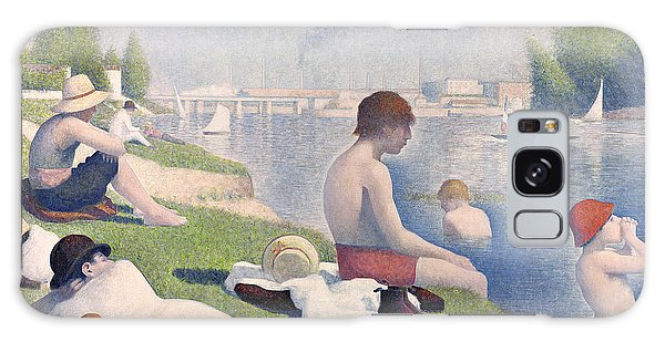 Crt Galaxy Case - Bathers At Asnieres by Georges Pierre Seurat