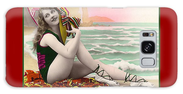 Bathing Beauty On The Shore Bathing Suit Galaxy Case