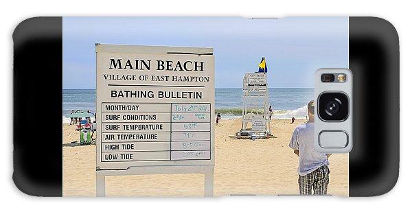 Bathing Bulletin Galaxy Case