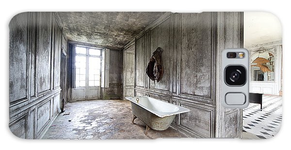 Bathroom Decay - Urban Exploration Galaxy Case by Dirk Ercken