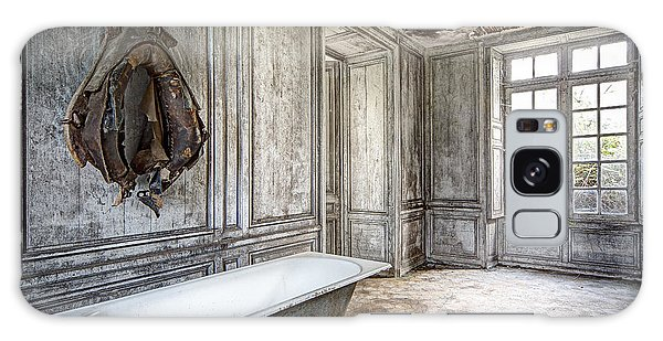 Bathroom In Decay - Abandoned Building Galaxy Case by Dirk Ercken