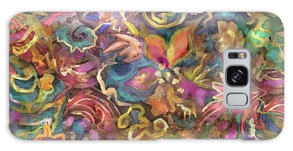 Batik Colorburst Galaxy Case