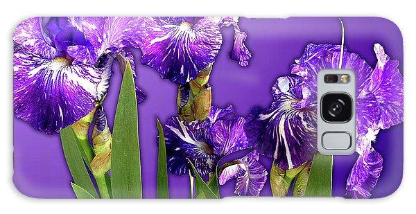 Batik Irises Galaxy Case