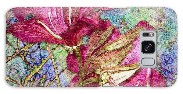 Batik Lilies Galaxy Case