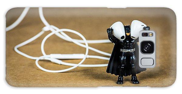 Batman Likes Music Too Galaxy Case