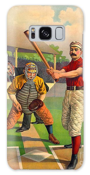 Batter Up 1895 Galaxy Case