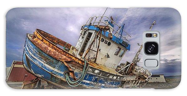 Battered Boat Galaxy Case by Roman Kurywczak