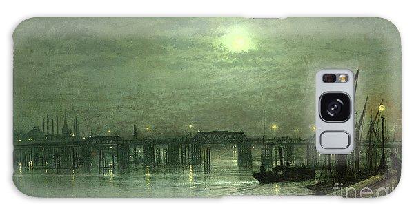 Battersea Bridge By Moonlight Galaxy Case