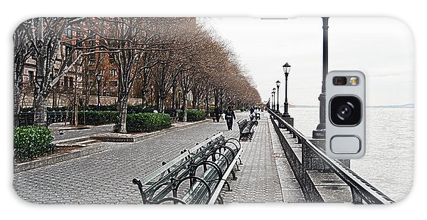 Battery Park Galaxy Case by Michael Peychich
