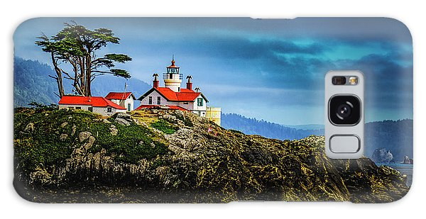 Battery Point Lighthouse Galaxy Case by Janis Knight