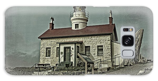 Battery Point Lighthouse Galaxy Case