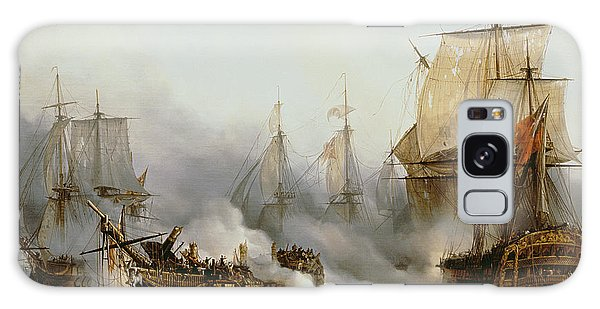 Boat Galaxy S8 Case - Battle Of Trafalgar by Louis Philippe Crepin