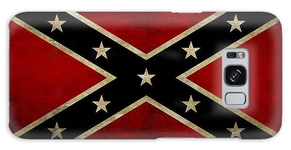 Battle Scarred Confederate Flag Galaxy Case by Randy Steele