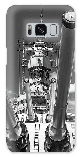 Galaxy Case featuring the photograph Battleship Missouri by Colleen Coccia
