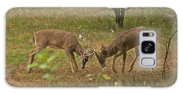 Battling Whitetails 0102 Galaxy Case by Michael Peychich