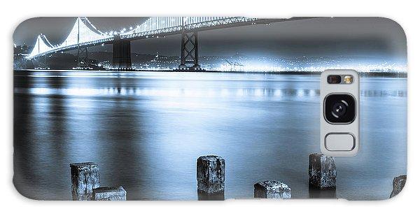 Bay Bridge 1 In Blue Galaxy Case
