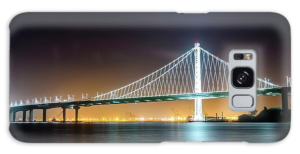Bay Bridge East By Night 1 Galaxy Case