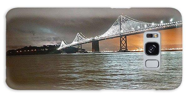 Bay Bridge Night Galaxy Case