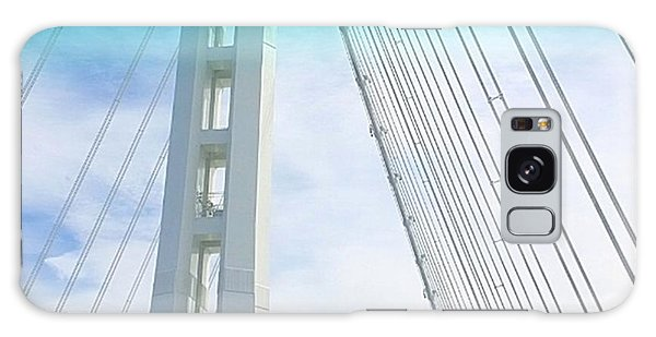 Sky Galaxy Case - Bay #bridge Section. Love The Aqua Tint by Shari Warren