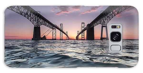 Bay Bridge Twilight Galaxy Case