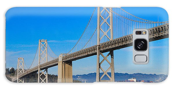 Bay Bridge With Apl Houston Galaxy Case