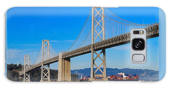 Bay Bridge With Apl Houston Galaxy Case