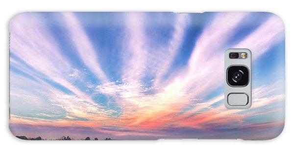 Bay Farm Island Sunrise Galaxy Case