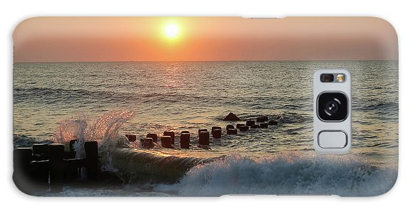 Bay Head Beach Sunrise 1 Galaxy Case