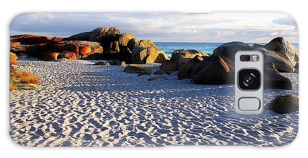 Bay Of Fires Sunrise Galaxy Case