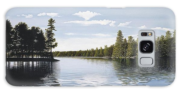 Bay On Lake Muskoka Galaxy Case by Kenneth M  Kirsch