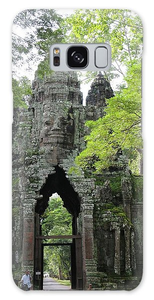 Bayon Gate Galaxy Case by Marion Galt