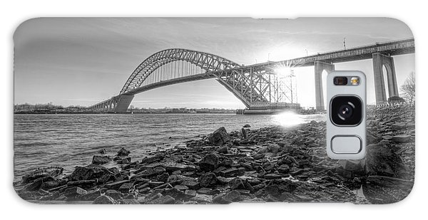 Bayonne Bridge Black And White Galaxy Case